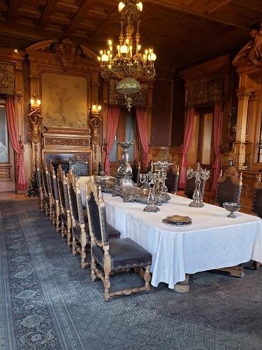 comedor del palacio de chapultepec
